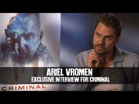 Ariel Vromen Exclusive Interview For Criminal (2016)