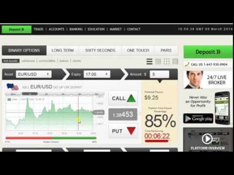 Trading Binary Options In 30 Seconds