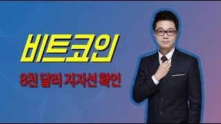 비트코인 8천 달러 지지선 확인-코인마켓레이더 7월 31일
