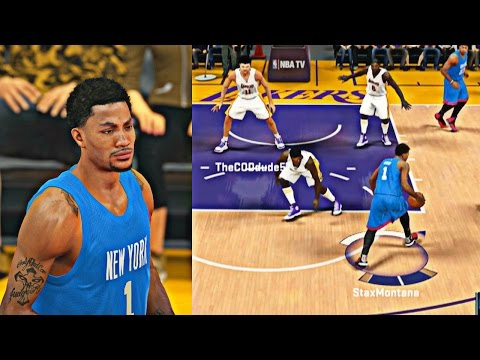 NBA 2K15 My Team - Onyx D Rose BROKE Oscars ANKLES !
