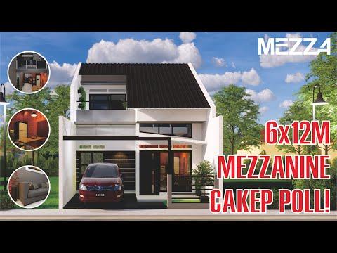desain-rumah-minimalis-6x12m---mezzanine---open-space-tanpa-sekat-dan-klasik
