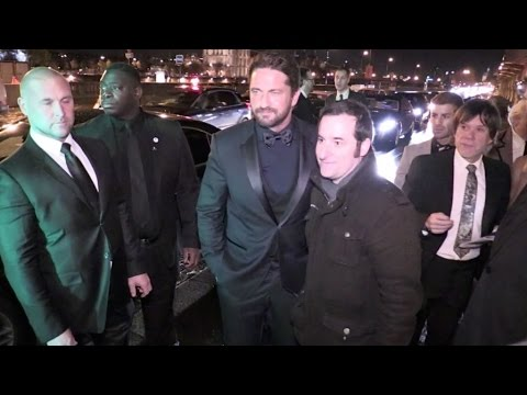 300 star Gerard Butler at the GQ Men of the Year Awards 2016 in Paris