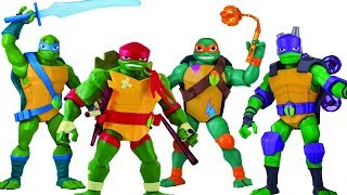 NEW FIGURES - Rise Of TMNT