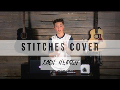 Stitches Cover || Zach Herron