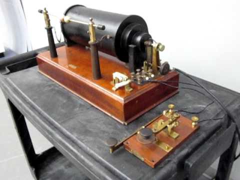 Marconi Spark Gap Transmitter Demonstration