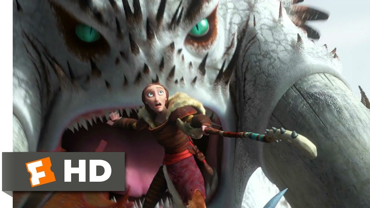How To Train Your Dragon 2 2014 Alpha Battle Scene 6 10 Movieclips Youtube