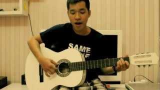 A1 - Everytime - guitar cover
