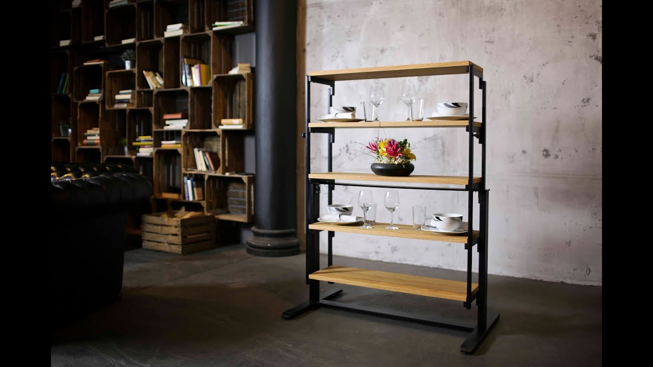 The Swing Is A Table That Quickly Turns Into A Shelf