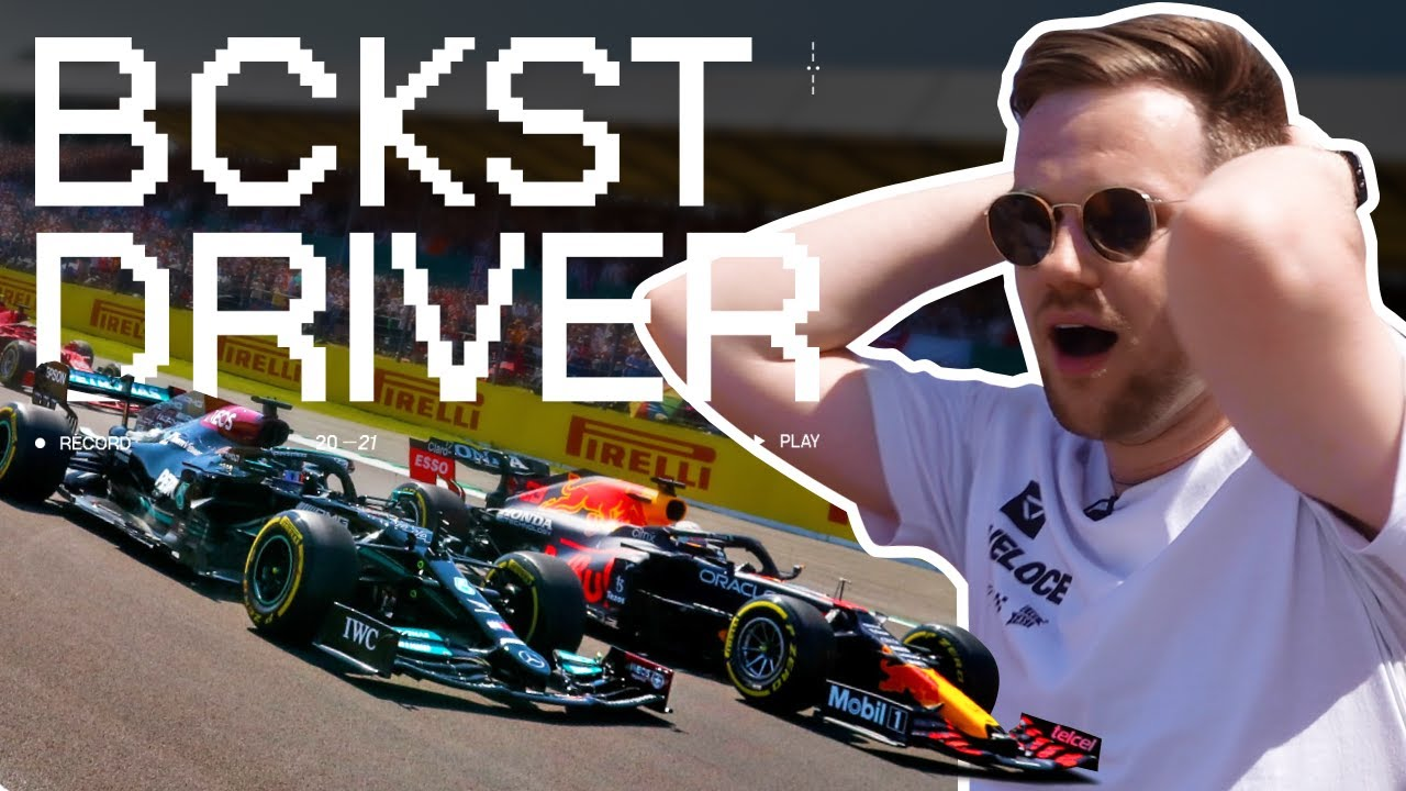 Backseat Driver LIVE from the 2021 British Grand Prix