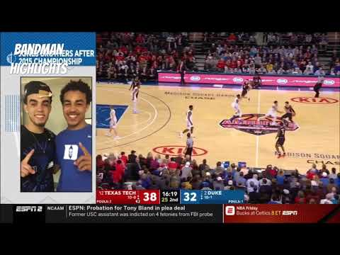 Duke vs Texas Tech- Full Game Highlights/12.20.18