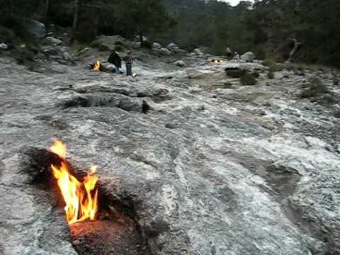 Chimera Fire Rocks - Olympus - Turkey - Apr/2008 - YouTube