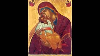 رتبة مدائح والدة الاله - الجزء 3 The ACATHIST Hymn - Part اني مدينتك مطوّل