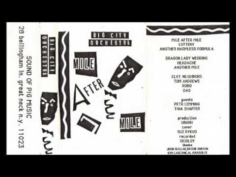 Big City Orchestra - Another Harmless Formula