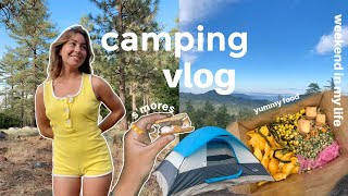 weekend in my lİfe   what I eat, camping, beach days