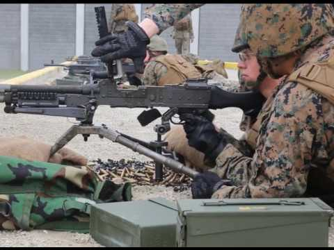 Marine Wing Communication Squadron 28 conducts M240B machine gun training exercise