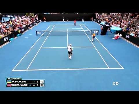 Alexandr Dolgopolov vs Andreas Haider-Maurer - Australian Open 2018 Highlights [HD]