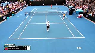 Alexandr Dolgopolov vs Andreas Haider-Maurer - Australian Open 2018 Highlights [HD]