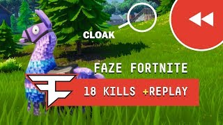 New REPLAY MODE in Fortnite! - 18 Kill Solo Gameplay