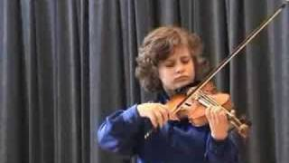 David Horvat(9) playing Haydn on Kocian competition