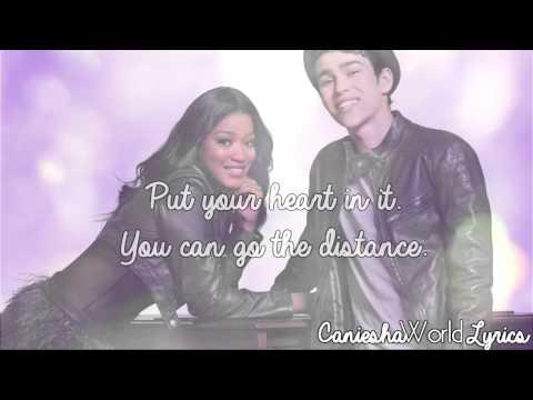 Keke Palmer & Max Schneider - Me & You Against The World (Lyrics Video) HD