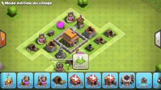 Comment faire un bon village HDV 5 clash of clans