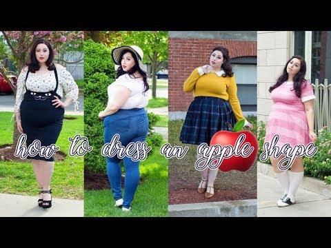 How To Dress For An Apple Shape Apple Shape Body Fashion Youtube