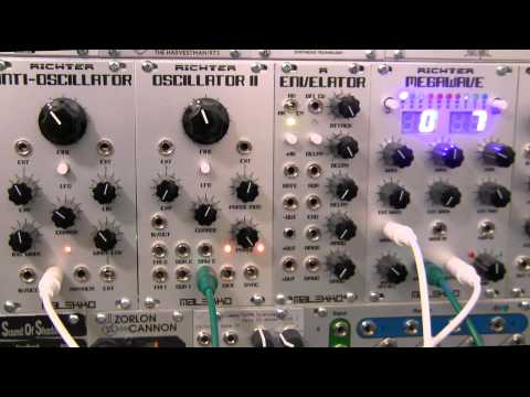 Modular Wild-Malekko Heavy Industry-Richter Megawave-Bank 7 and Drum Triggers