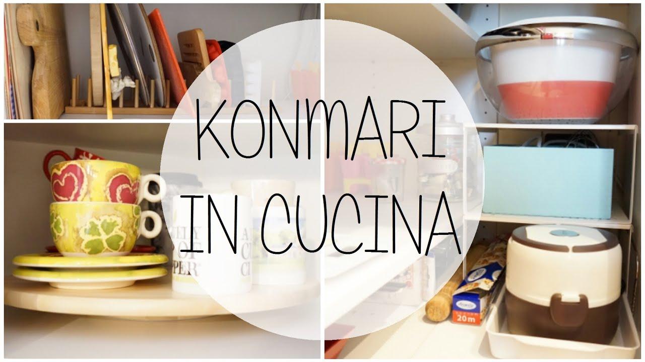 Selezione accessori cucina marie kondo youtube - Metodo kondo cucina ...