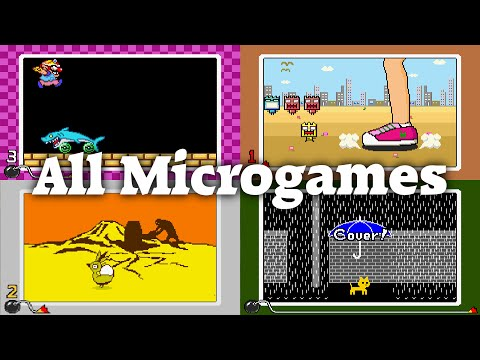 WarioWare, Inc.: Mega Microgame$! - All 213 Microgames on All Difficulties
