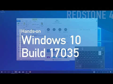Windows 10 build 17035: Hands-on with Near Share, Fluent Design, Edge mute tab, more