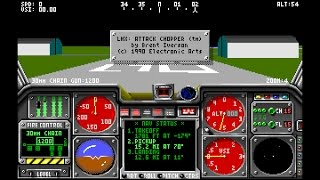 LHX: Attack Chopper (PC-DOS) 1990, Electronic Arts