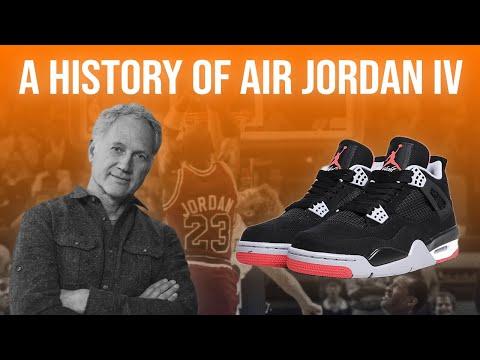 How The Air Jordan 4 Became a Cultural Icon