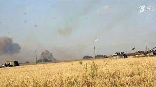 сегодня последние новости, Интенсивные перестрелки не стихают в Донецкой области(сегодня последние новости, Интенсивные перестрелки не стихают в Донецкой области Новости, новости..., 2014-08-04T08:35:28.000Z)