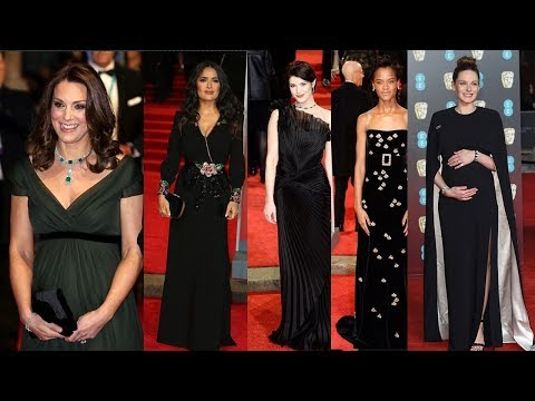 Hollywood Glamour in Show stopping Black Gowns