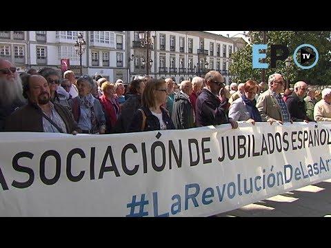 La revolución de las arrugas: los jubilados vuelven a manifestarse en Lugo