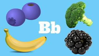 Alphabet ABC Fruits & Vegetables Phonics