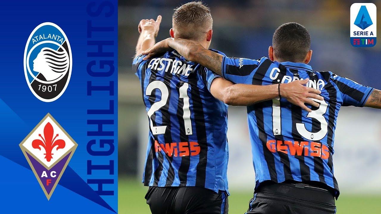Atalanta 2-2 Fiorentina | Castagne Leads Atalanta to Stunning Comeback | Serie A