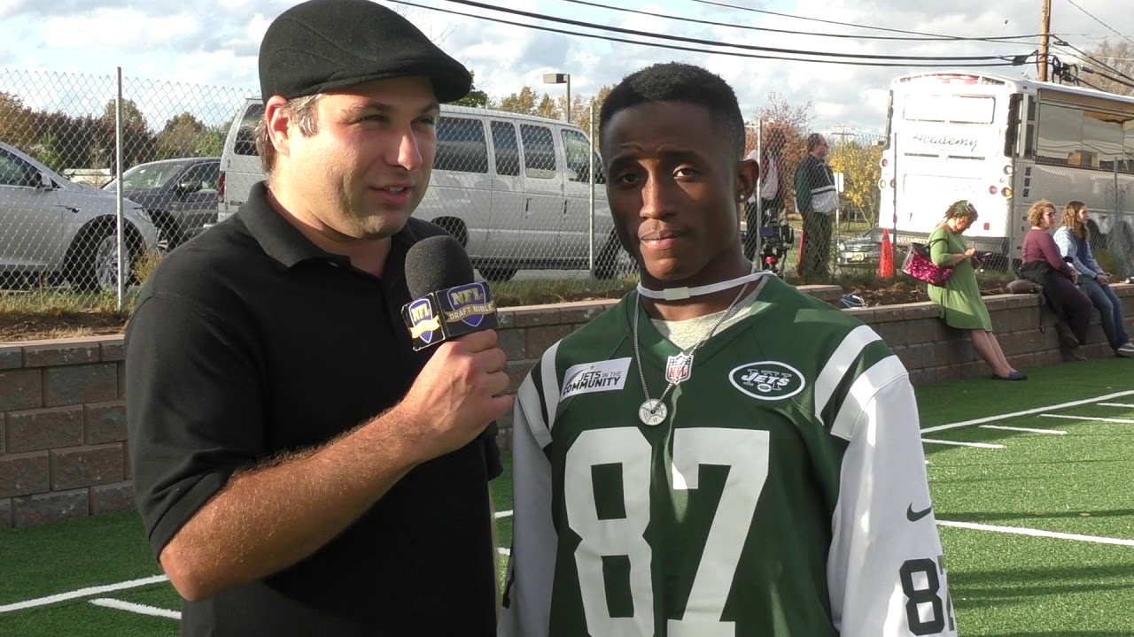 info for 35bd9 920cc JoJo Natson New York Jets Wide Receiver Teams Up With United Way