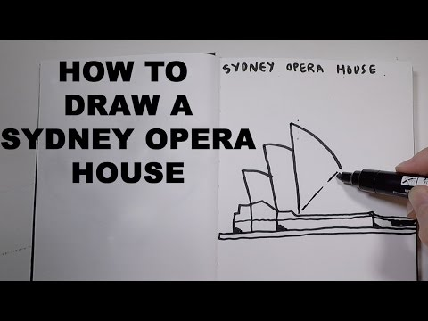 How to Draw a Sydney Opera House