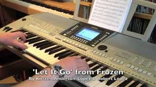 'Let It Go' Keyboard Cover Version