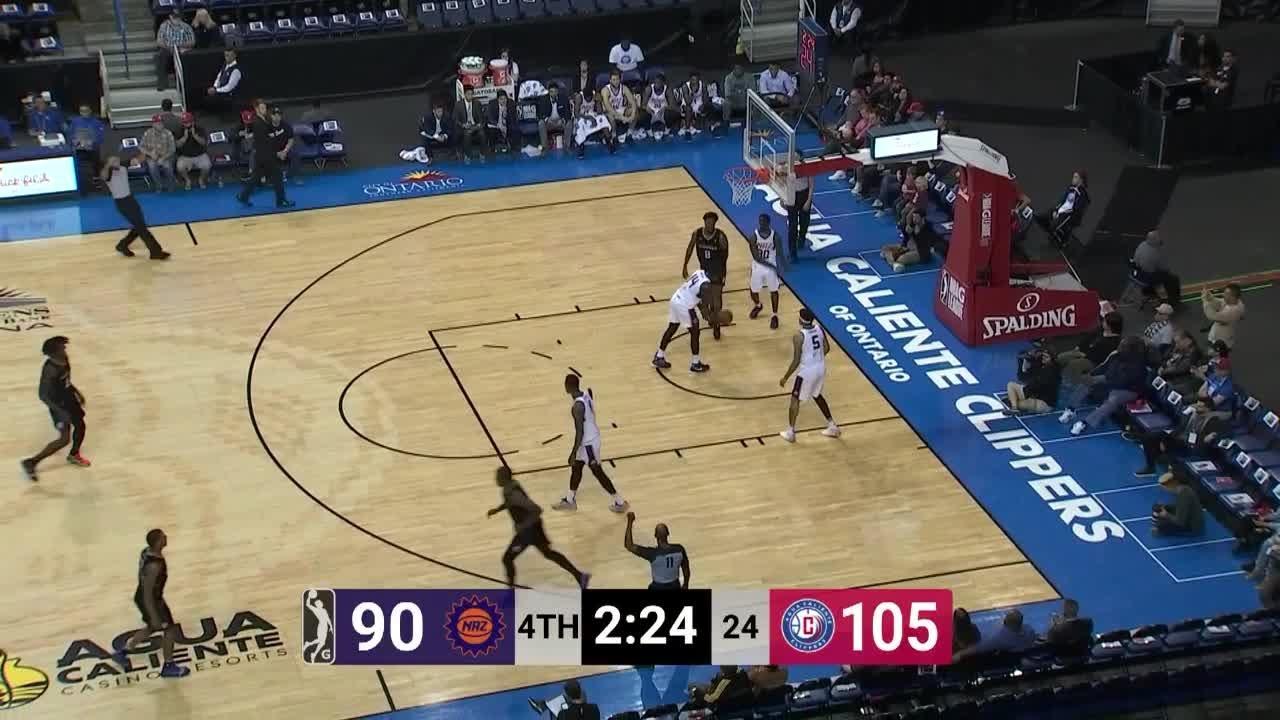 Angel Delgado (14 points) Highlights vs. Northern Arizona Suns