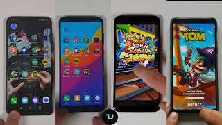 Honor Play vs OnePlus 6 vs Honor V10 vs OnePlus 5T Speed test/Comparison/Benchmarks
