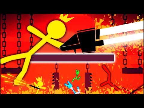 THE BEST STICK FIGHT EXPLOSIVE WEAPON EVER!! LAVA CHALLENGE (Stick Fight #6)