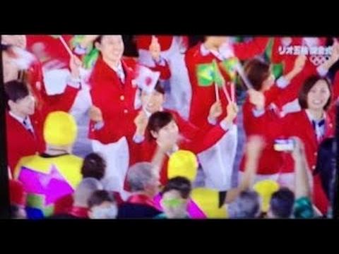 リオ・オリンピック、日本選手団...
