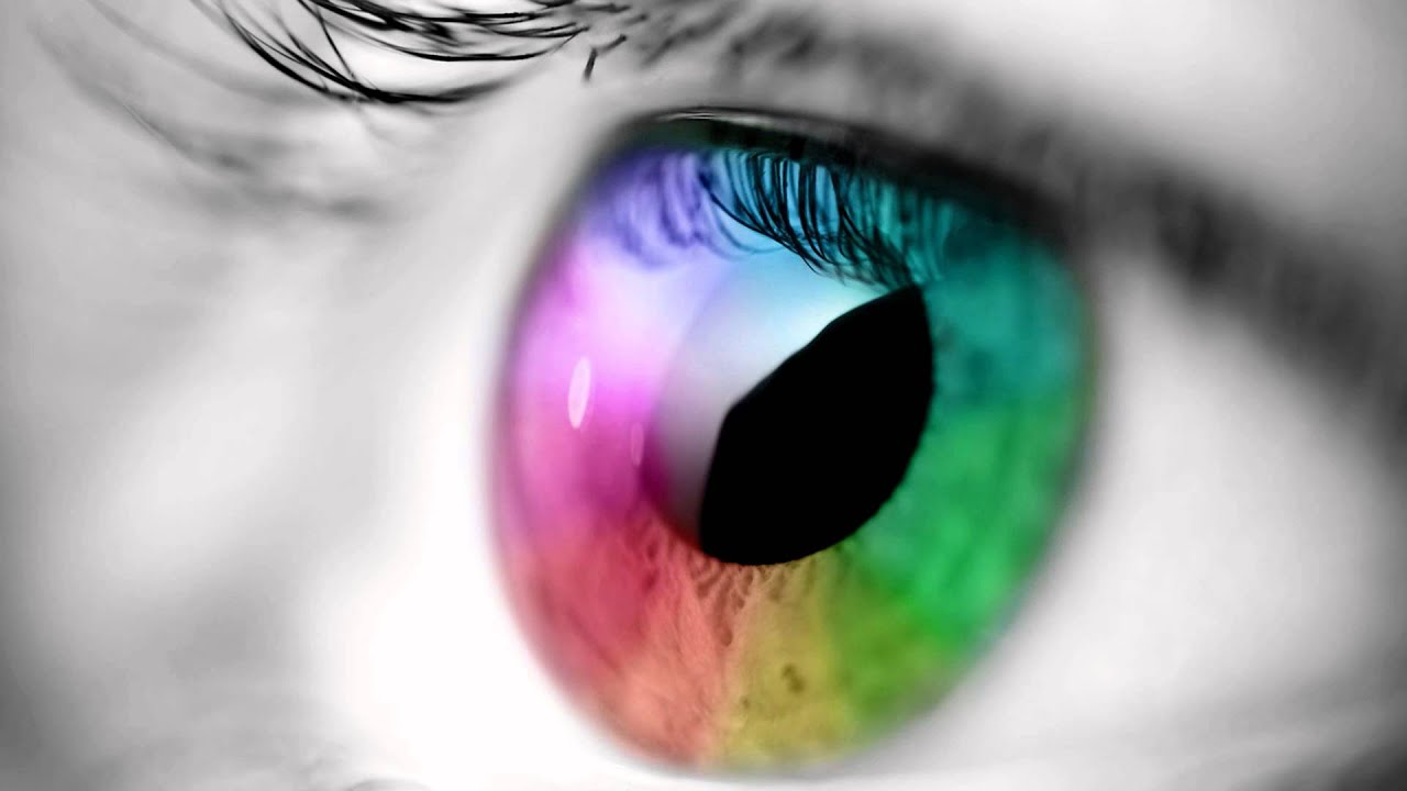 Fondo animado de ojo de colores para tu pc youtube for Colores de marmol para mesadas