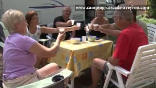 Camping de La Cascade des Naisses - Saint-Rome de Tarn