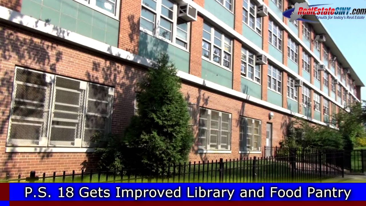 Staten Islands PS 18 Received a New Library and Food Pantry