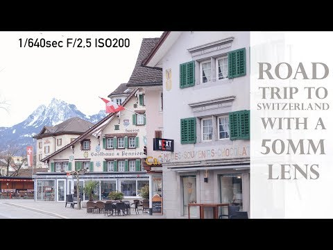 Photographing during a vacation (holiday) in Switzerland with a 50mm lens