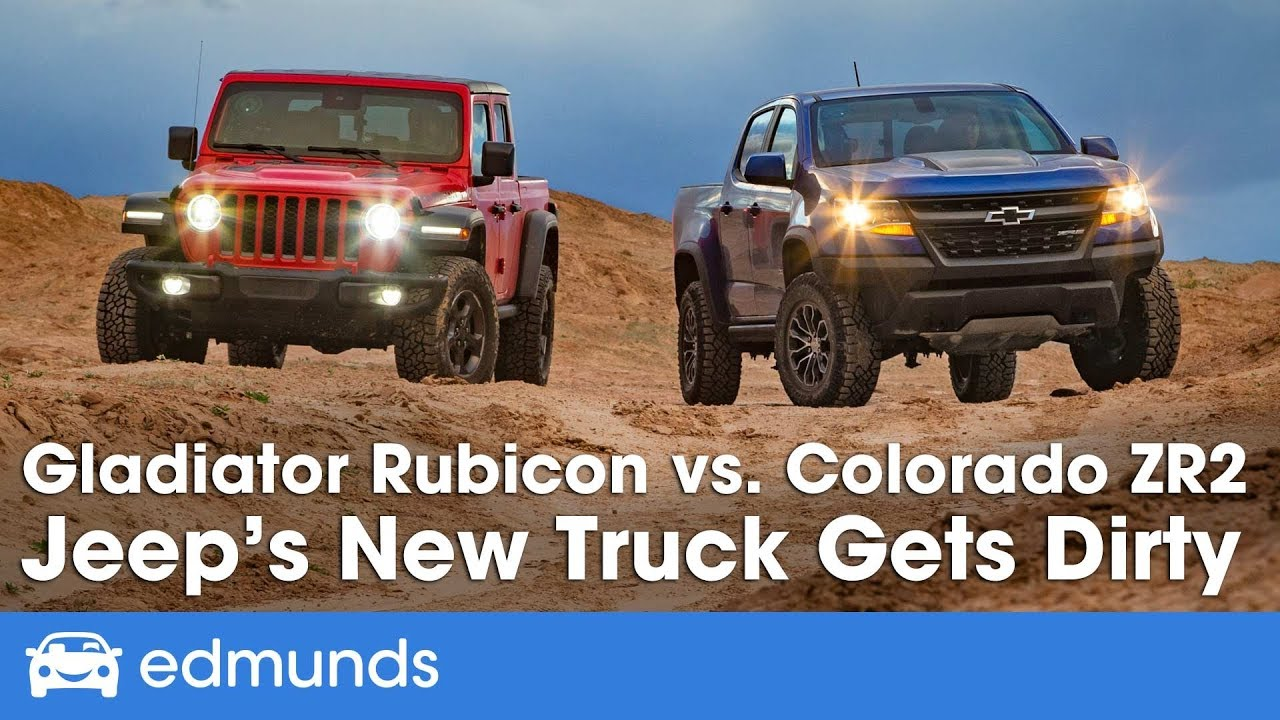 Jeep Gladiator Rubicon vs. Chevy Colorado ZR2 - 2019 Off ...