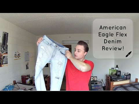 American Eagle Flex Denim Review! Comfortable Jeans For Men